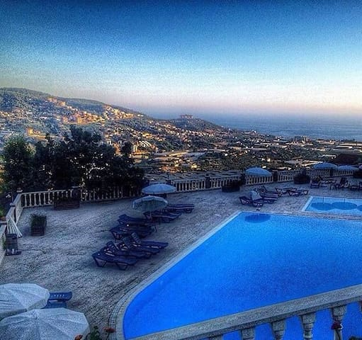 Goldcity hotel, 2Bedroom  in Alany . Sea view