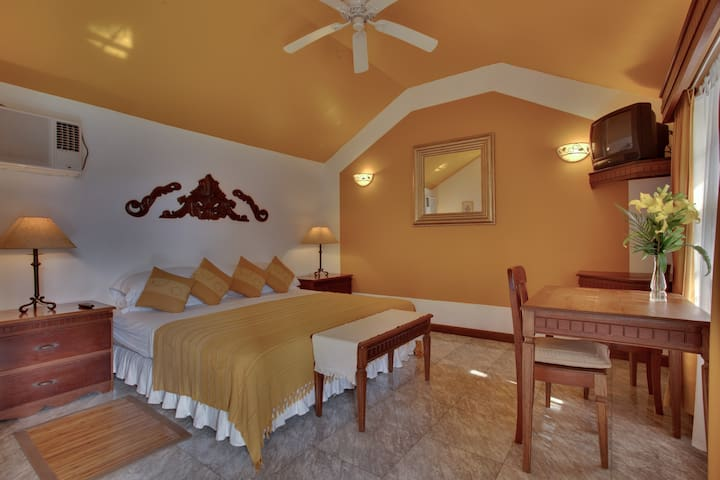 Villa Boscardi-1 Bedroom King Suite - Belize City - Oda + Kahvaltı