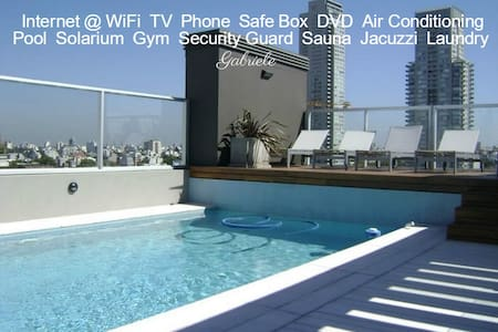 Gold Soho Apartment Full Amenities - Buenos Aires - Byt