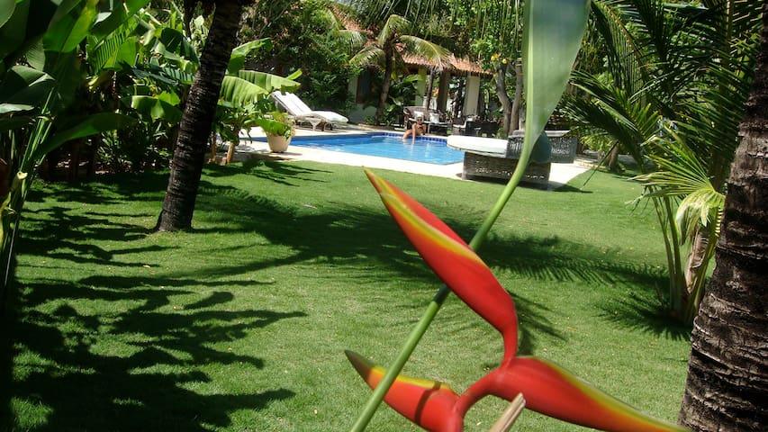 Brasilien: Villa mit schönem Garten, Pool, am Meer - Parajuru - Dům