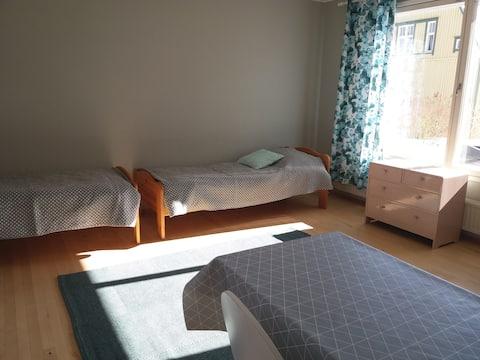 Kahden hengen huone