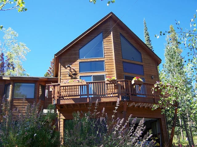 King bed & en suite bath, plus loft w/ twin bed - Silverthorne - Bed & Breakfast