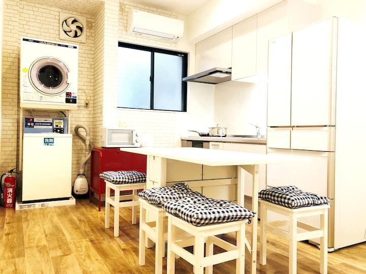 @Asakusa Tokyo.1F/6 Rooms / 2 showers & toilets