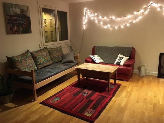 Appartement spacieux et tout équipé