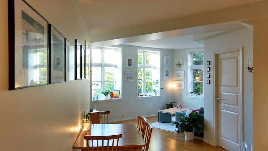 Apartment in the city center with sea view - Bergen - Appartamento