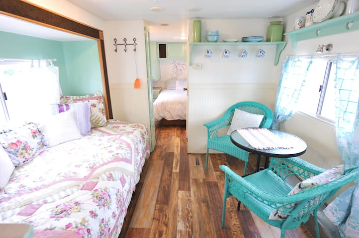 Mellow Cape Cod Camper with Lake & Mountain Views