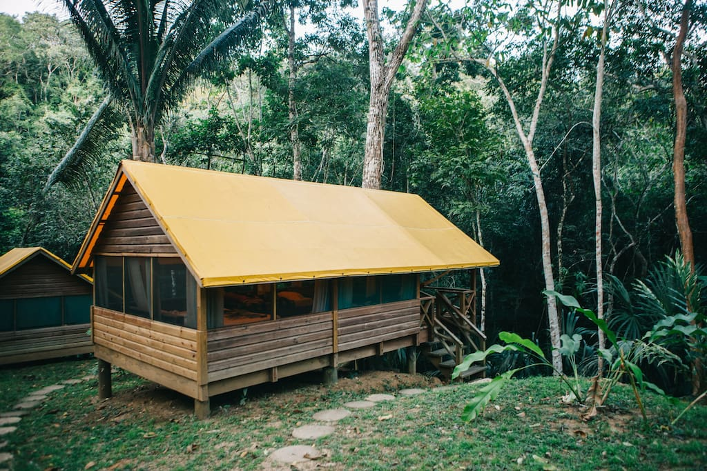 Exterior of your camp casita