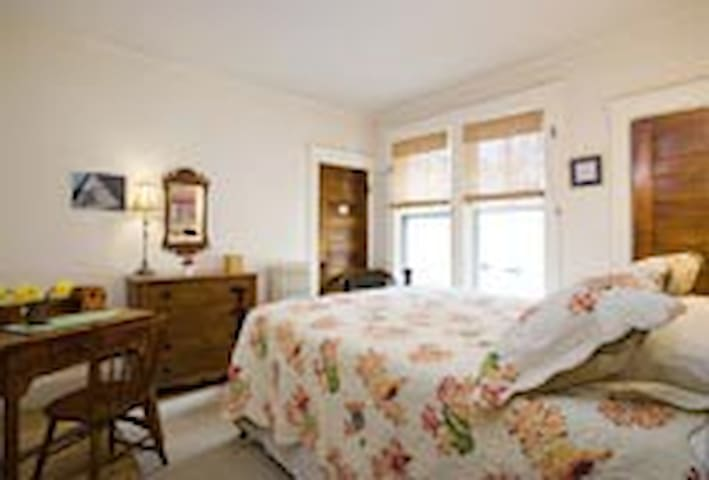 Room #2 - Queen bedded with large private bath next door