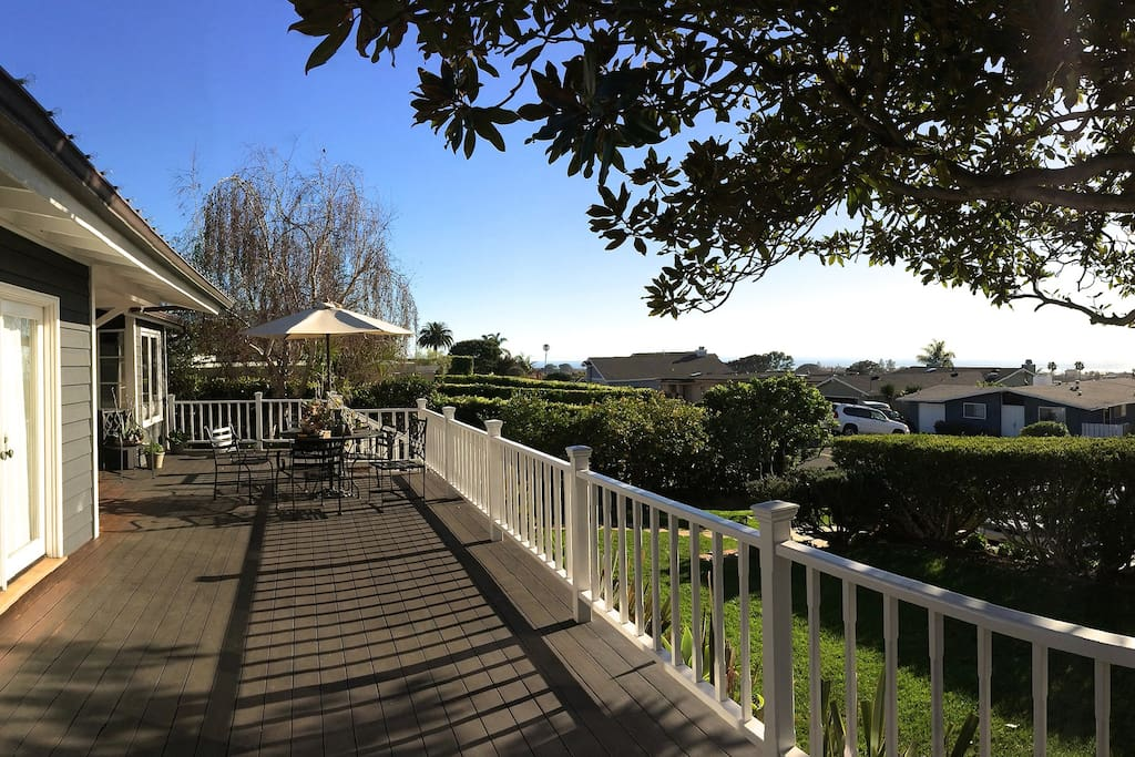 more front deck