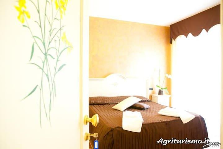 camera matrimoniale la ginestra - San Rufo - Inap sarapan