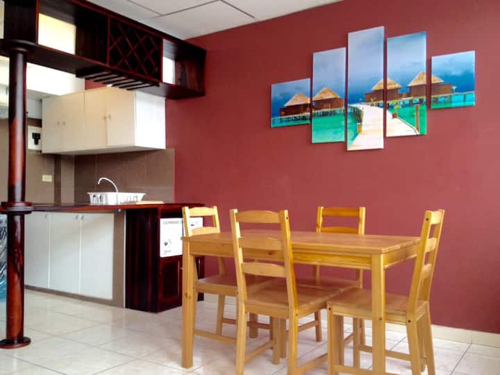 Apartment and Coworking Urdesa Central Guayaquil