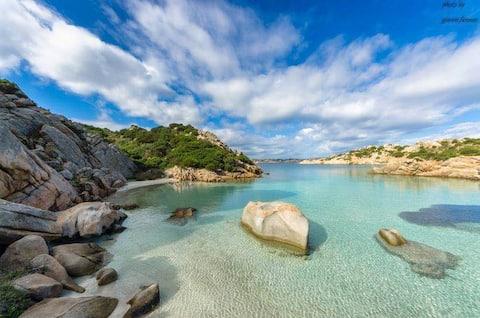 Sardinia1House4+garden+parking+near-by large beach
