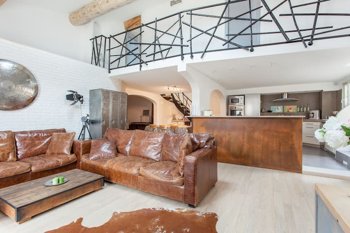 Ático tipo loft impresionante - Narbonne - Loft