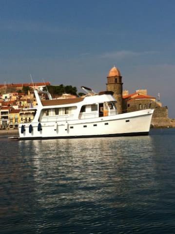 A louer a Quai Magnifique Yacht - Argelès-sur-Mer - Boot
