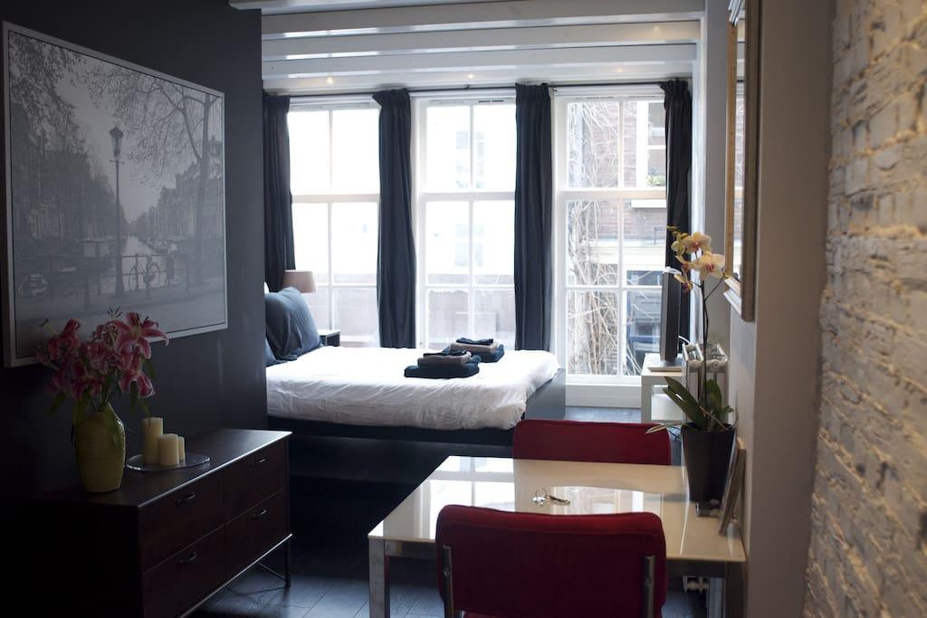 Stylish apartment in the citycenter appartamenti in for Appartamenti amsterdam affitto mensile