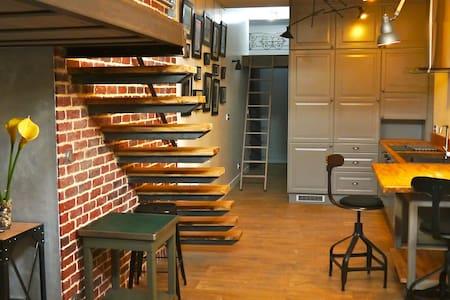 Mini loft proche gare et centre - Grenoble - Loft