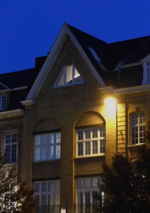foto van het gebouw