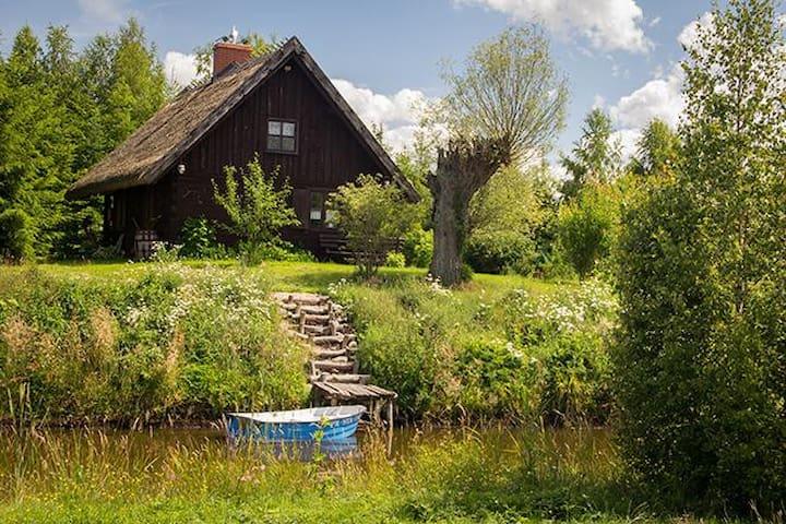 Chłopska chata - Bauernhütte