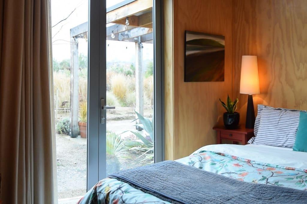 Garden access from room