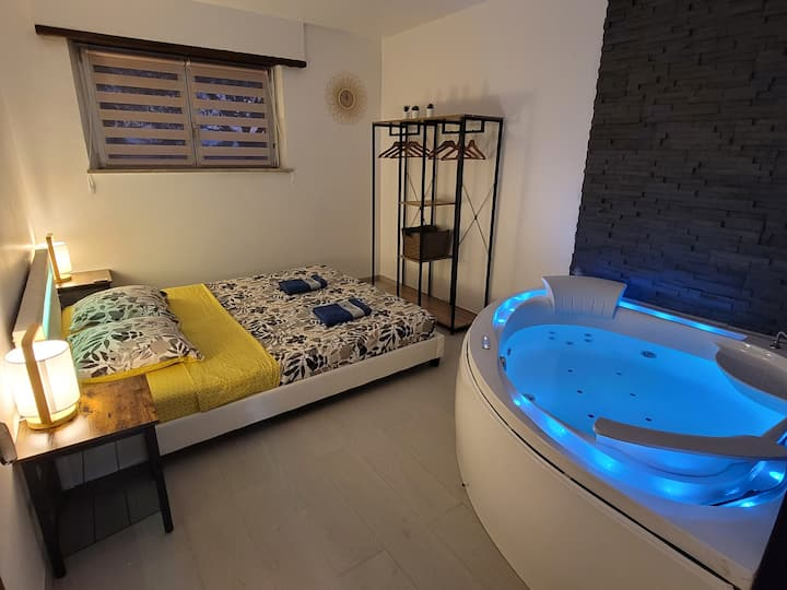 Appartement Sauna&Balnéo 2 chambres proche Colmar