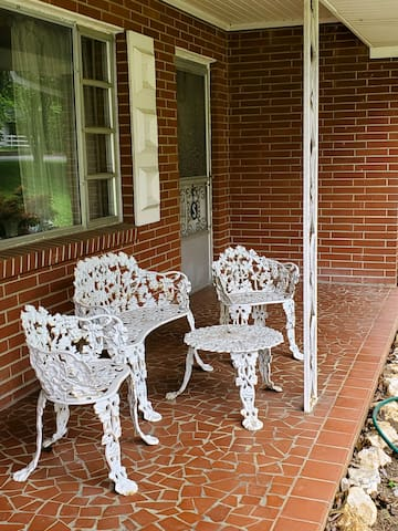 Relax on the front porch and take in the fresh air!