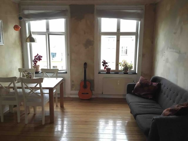 Cosy and bright flat in the heart of Nørrebro