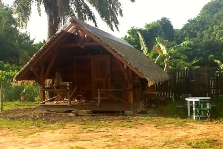Superbe bungalow traditionel - Cayenne - Dom