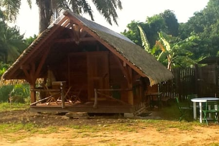 Superbe bungalow traditionel - Cayenne - Hus