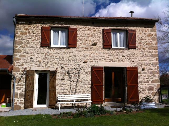 La France profonde - Bessines-sur-Gartempe - Maison