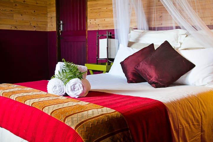 Feel the rhythm - Marimba Cottage - South Cape DC - Natur-Lodge