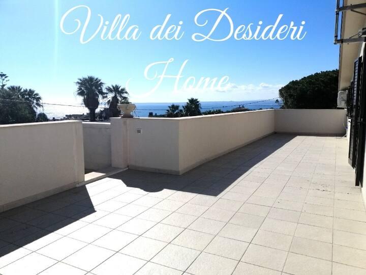 Home in Villa dei Desideri~ tre posti letto~