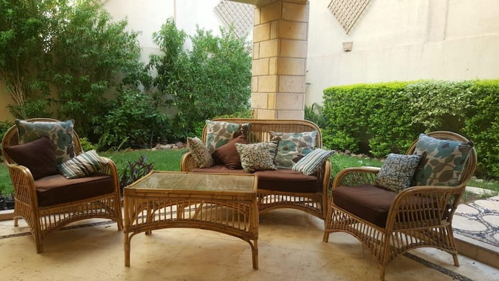 Relax in NewCairo (Flat with Garden)