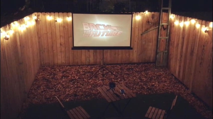 You are also invited to watch movies with us in the open air, only in Pop House