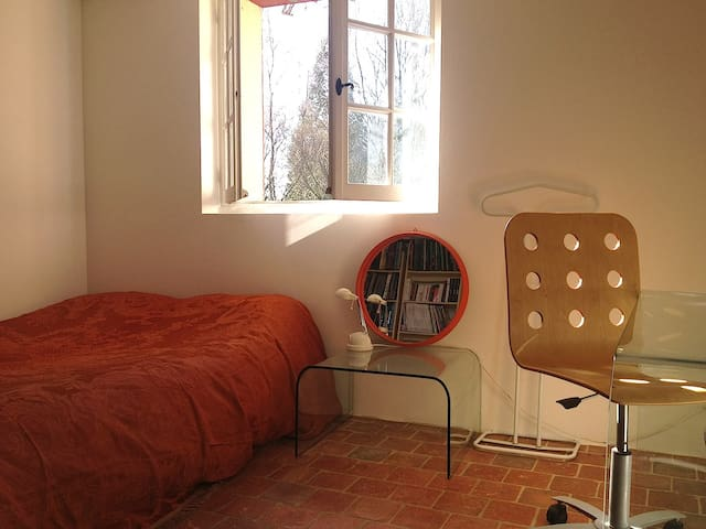 La seconde chambre double, avec bureau