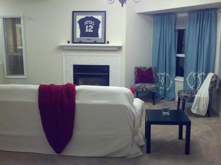 Large Bedroom & private bathroom