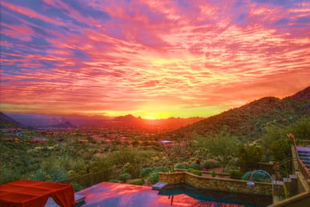 Hillside casita with amazing sunset views - Scottsdale - Chambres d'hôtes