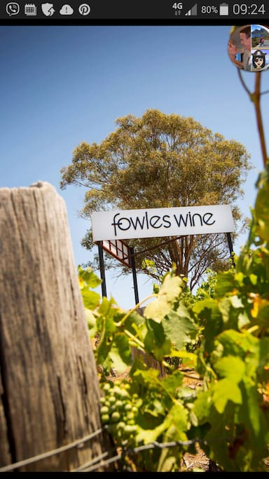 The fabulous fowles winery .