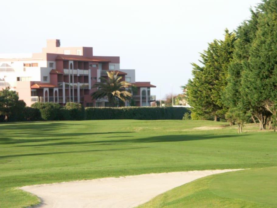 la résidence  coté golf de Biarritz