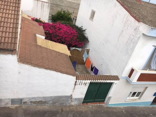 Vista dall'alto dell'abitazione (ingresso del cortile su via Regina Elena).