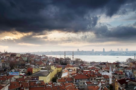 Central Flat with Bosphorus view, - Istanbul