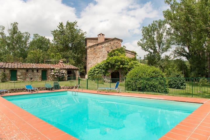 Villa W POOL Siena/Casole 12 People - Colle di Val d'Elsa - Hus