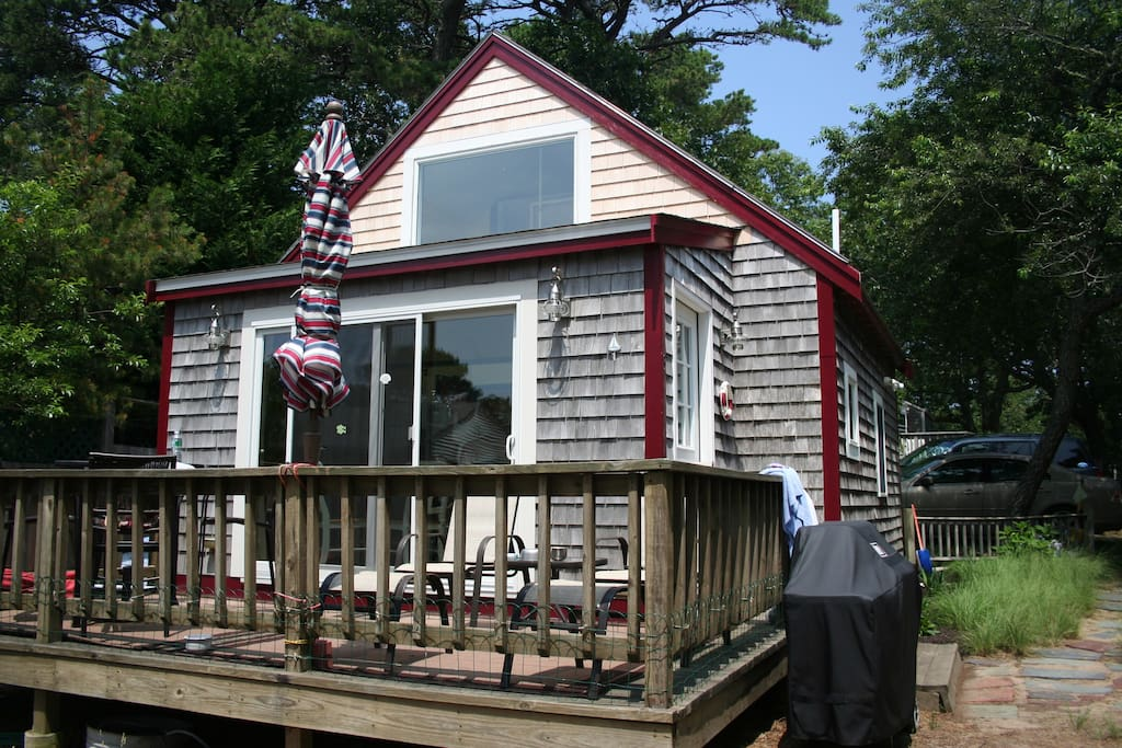 ...the Cove Cottage, our little piece of Wellfleet and Cape Code.