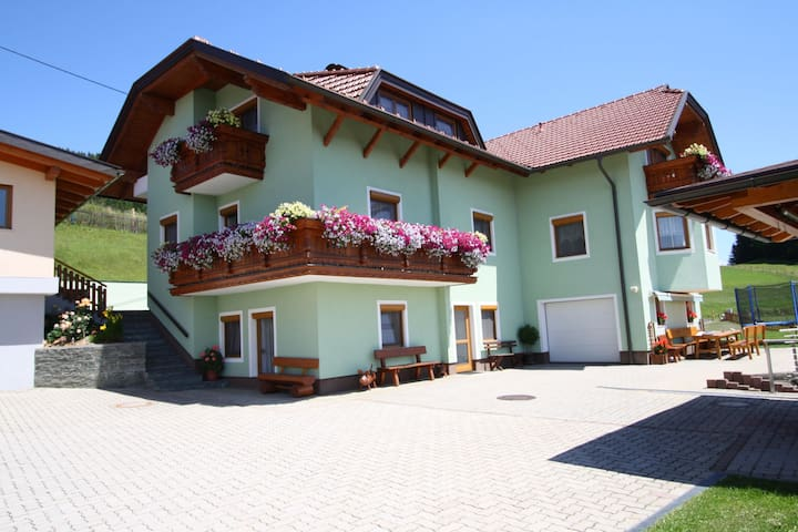 Pleasing Apartment in Liebenfels With Swimming Pool