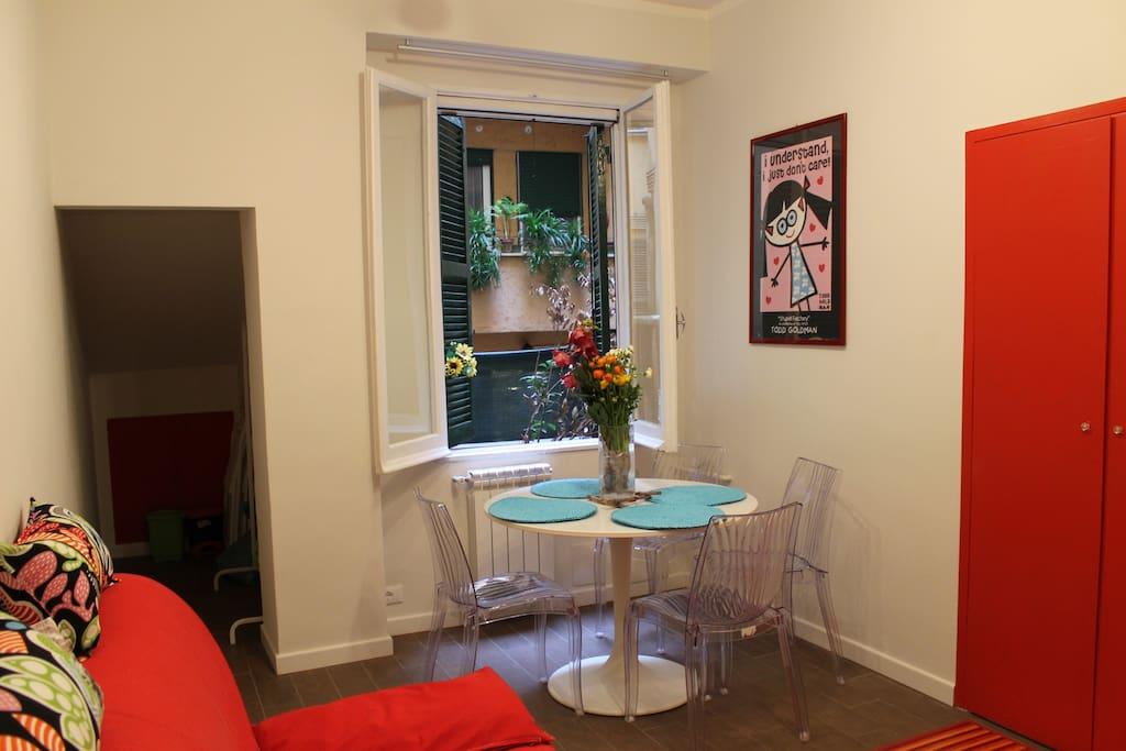 Mama trastevere suite roma centro appartamenti in for Appartamenti centro roma