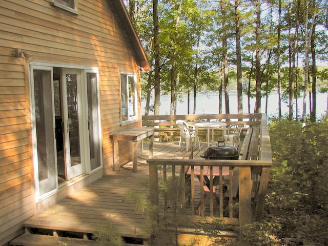 Lakeside cabin, Lake Winnepesaukee