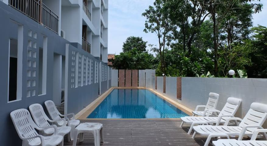 The Little Box Condo Krabi LP2 - Tambon Ao Nang - Appartement en résidence