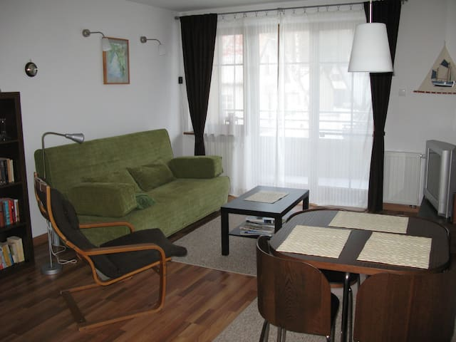 Cozy apartment in a peacefull site - Kąty Rybackie - Byt