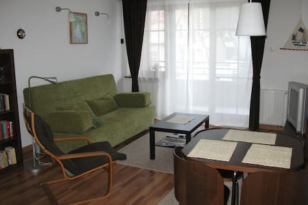Cozy apartment in a peacefull site - Kąty Rybackie