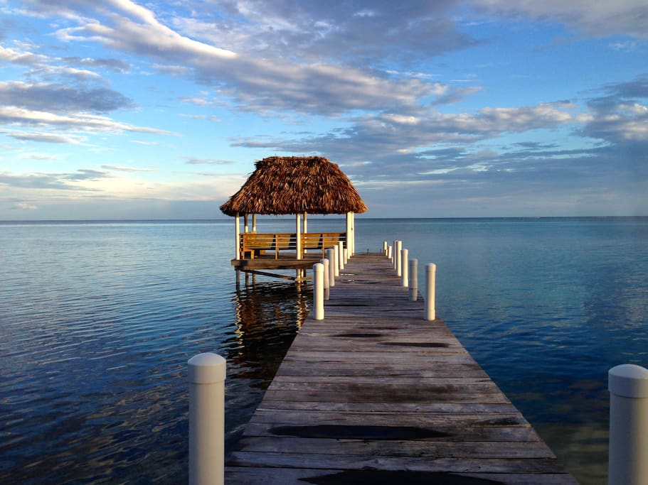 Your pier with palapa