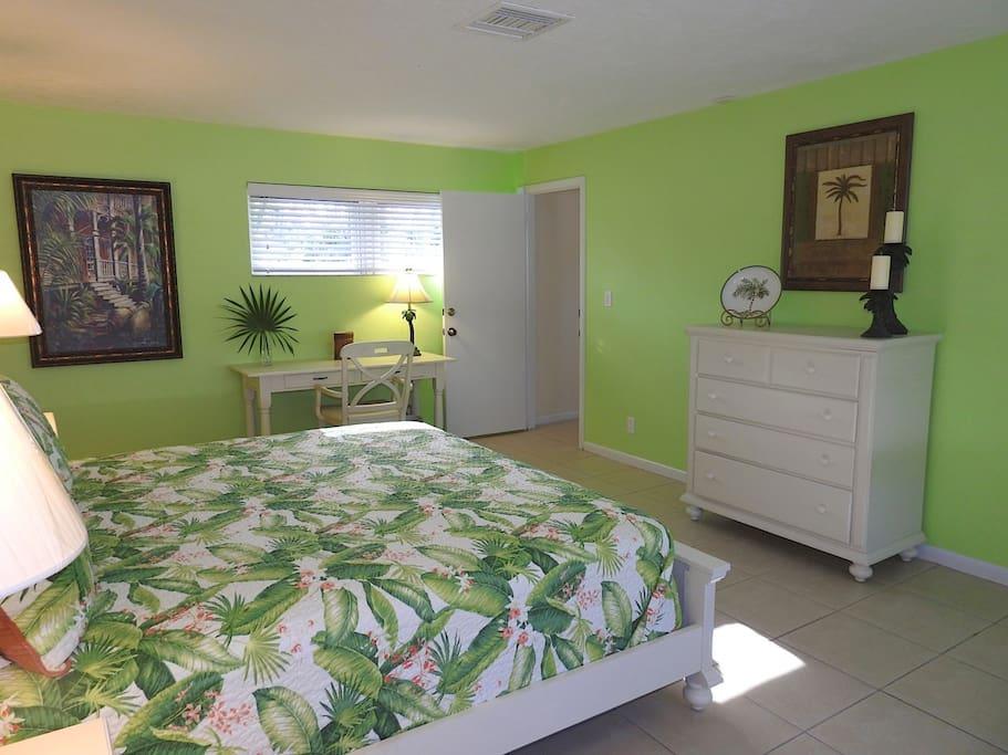 Palmen Zimmer - palm room